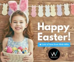 Web Idilio - Happy Easter 2017